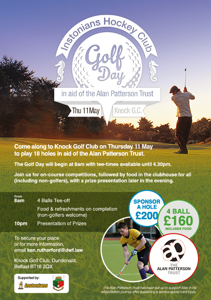 004853 Alan Patterson Foundation Golf Day flyer